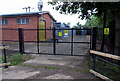 TL1538 : Entrance to electricity substation by Philip Jeffrey