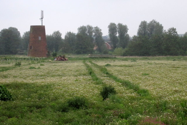 Remains of windmill