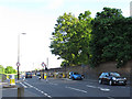 TQ3977 : Width restriction on Maze Hill by Stephen Craven
