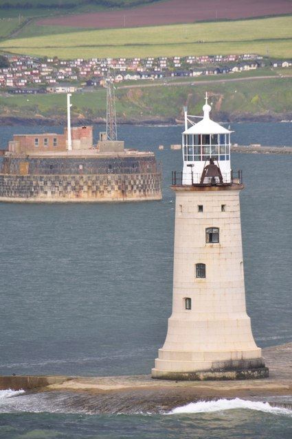 Plymouth Sound : Plymouth Breakwater