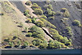 NY1505 : Gully on The Screes, Wast Water by Rob Noble