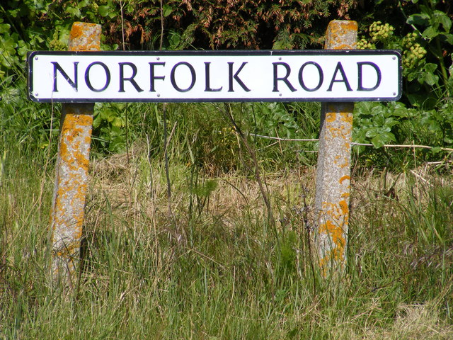 Norfolk Road sign