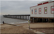 TM3034 : Felixstowe, Suffolk. by David Hallam-Jones