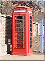TM4679 : Telephone Box on the High Street by Adrian Cable