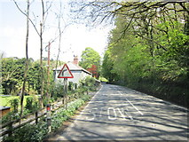 SX0271 : The A389 at Trevigan Wood by Ian S