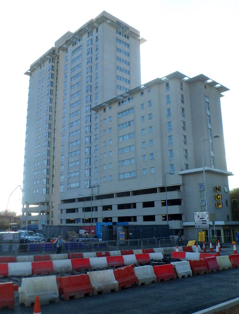 Cars That Start With B >> Liberty Bridge and NCP car park, Cardiff © Jaggery cc-by-sa/2.0 :: Geograph Britain and Ireland