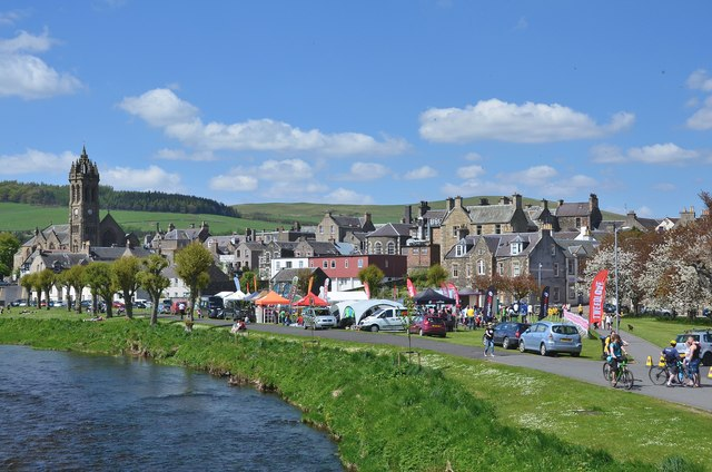 Tweedlove Cycle festival, Peebles