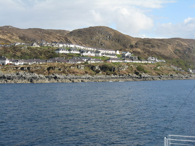 Mallaig Bheag from the Skye ferry