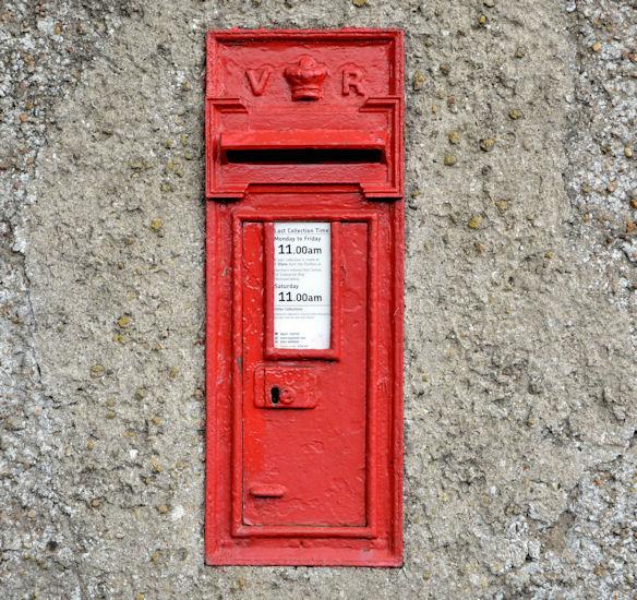 Victorian wall box, Parkgate (1)