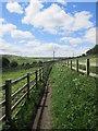 SE0933 : Footpath - off Reservoir View by Betty Longbottom