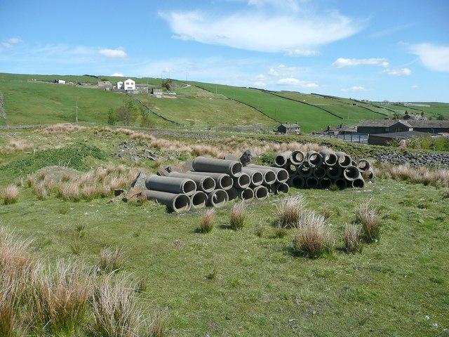 Pipes at Spring Dam