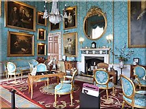 SE7170 : Turquoise drawing room, Castle Howard by Derek Voller