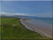 SH4356 : The Lleyn Peninsula is smoking by Richard Hoare