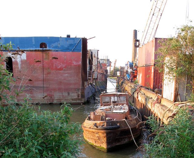 Boats at Piper's Wharf