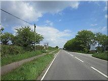SX3970 : The A390 towards St Ann's Chapel by Ian S