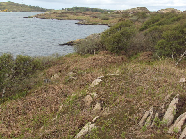 Along the shoreline of Loch Caol, Isle of Mull