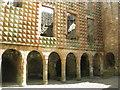 NT3861 : Italianate façade of Crichton Castle by M J Richardson