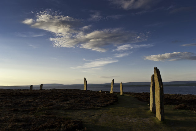 Evening at the Ring of Brodgar