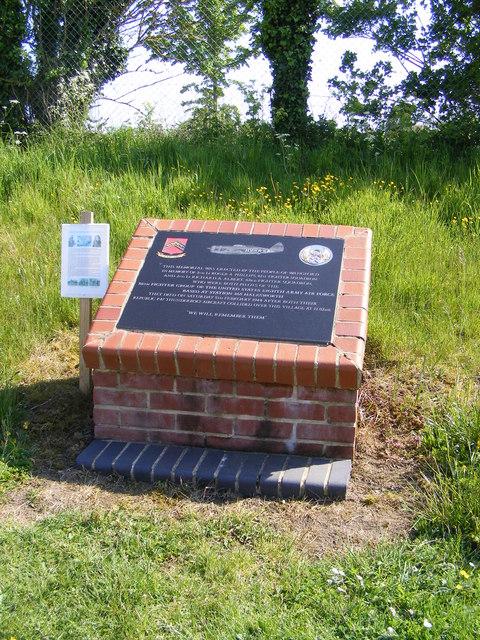 Memorial at Pound Corner