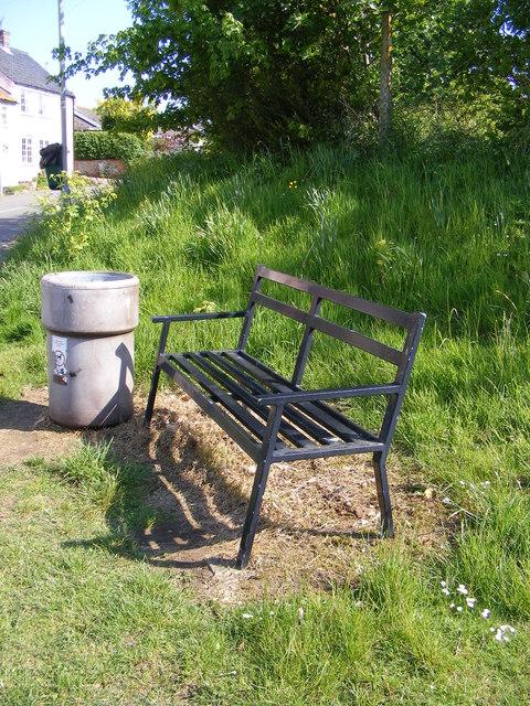 Seat at Pound Corner