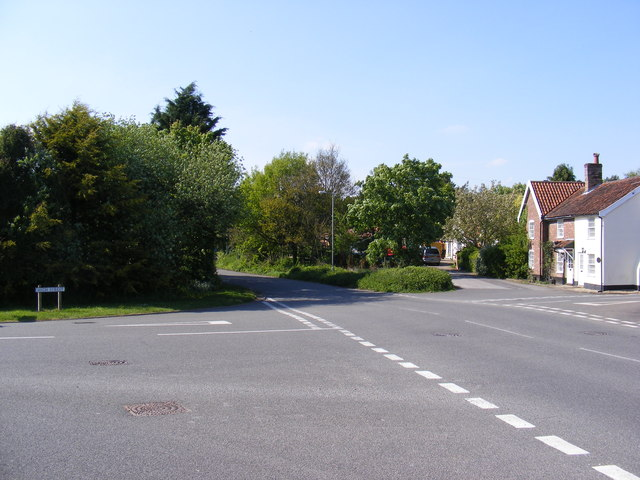 B1126 Norfolk Road, Wangford