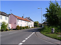 TM4679 : B1126 Norfolk Road, Wangford by Adrian Cable