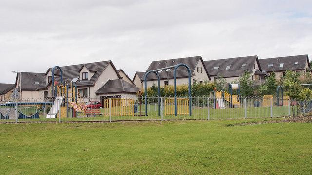 Play area on David Douglas Avenue