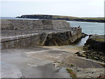 NB5363 : Port Nis harbour by James Allan