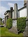 NS4764 : Memorial to Robert Wilson, Town Clerk by Lairich Rig