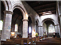 NT8947 : Interior of St Cuthbert's church by Stephen Craven