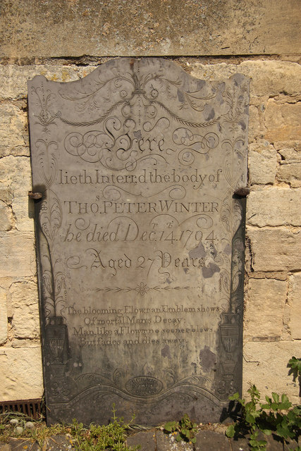 Thomas Winter headstone