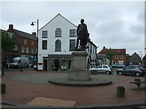 TF4066 : Statue of Sir John Franklin, Spilsby by JThomas