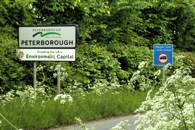 Peterborough boundary