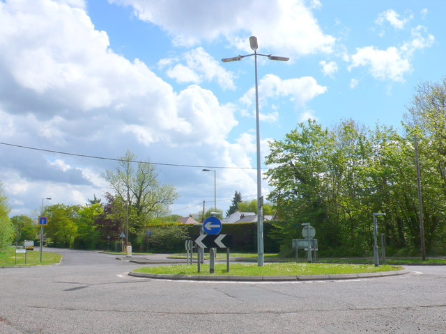 Reading Rd Roundabout.