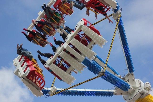 Fairground ride, Douglas promenade
