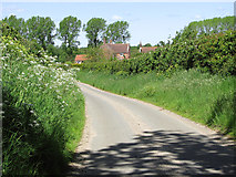 TM4592 : View towards Money's Farm, Aldeby by Evelyn Simak