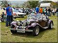 SD6342 : Classic Car Display, Chipping Steam Fair by David Dixon