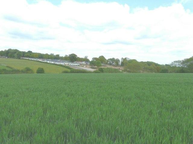View of Hogbarn Holiday Village, Hogbarn Lane