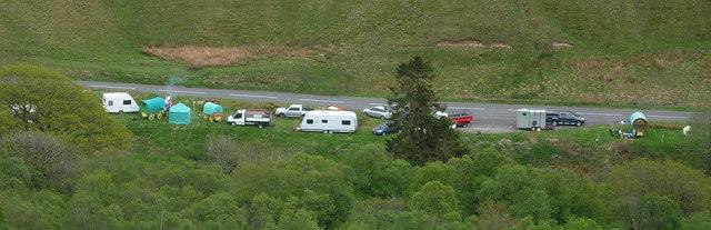 Gypsies heading for Appleby Horse Fair