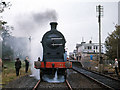 C6631 : Steam train at Bellarena - 1970 (2) by The Carlisle Kid
