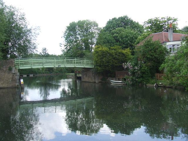 Bridge over the River Lee Navigation, Broxbourne