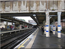TQ1979 : Acton Town Underground Station by Ian S