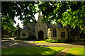 TQ3391 : Pair of chapels, Tottenham Cemetery (1856-57) by Julian Osley