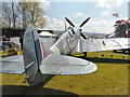 SD6342 : Replica Spitfire at the 2013 Chipping Steam Fair by David Dixon