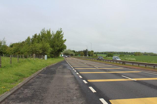 Approaching Dutch House Roundabout