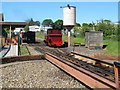 TG3018 : Turntable at Bure Valley Railway, Wroxham (Hoveton) by Roger Jones