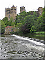 NZ2742 : Cathedral view, Durham by Pauline E