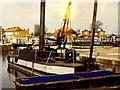 "ST2937 : Bridgwater docks and dredger ""Bertha"" by Richard Green"