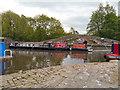 SJ9398 : Ashton Canal, Portland Basin by David Dixon