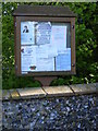TM4580 : Uggeshall Village Notice Board by Adrian Cable